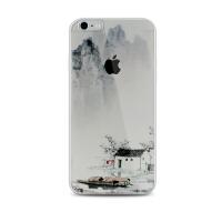 【全国包邮】hidog 苹果iPhone6s手机壳原创意6plus保护套软边5s外壳简约文艺