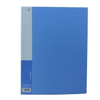金得利文件夹时尚办公用品A4优系列单强力夹清新文具用品AF502