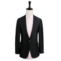 男式西装套装单排一粒扣秋冬商务白领 西服