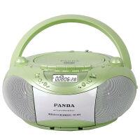 【当当自营】 熊猫/PANDA CD-850 多功能DVD复读播放机CD胎教机磁带录音机收音收录机MP3播放器音响 绿色