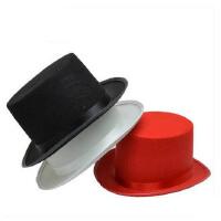 聚会礼帽服装 魔术师帽子 魔术帽 高礼帽 爵士帽 魔术道具