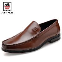 苹果APPLE防臭皮鞋男鞋婚鞋5288045