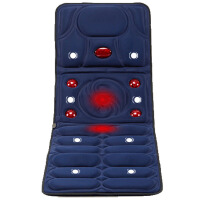 多功能红外线按摩床垫电动按摩垫全身按摩床垫3D立体震动按摩