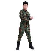 2016外军BDU简易版数码迷彩套装 户外运动军迷装备