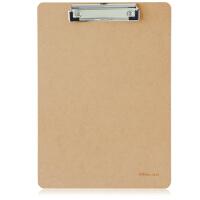 得力文具(deli)9226 板夹 A4木制垫板 木质文件夹 书写板夹 A4木板夹办公用品