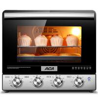 【ACA北美电器旗舰店】ATO-M38AC 电烤箱38L立式家用烘焙 背部涡轮热风