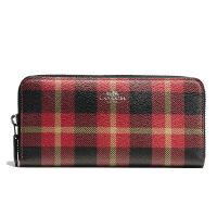 COACH 蔻驰 时尚女士格子英伦风格新款钱包卡包中长款钱包 F55933