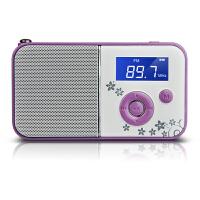 【当当自营】 熊猫/PANDA DS-111 数码音响播放器 插卡音箱 立体声收音机 紫色