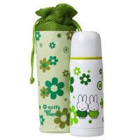 米菲 儿童不锈钢便携式保温杯 宝宝水壶 400ml 配袋子 MF-3131