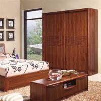 御品工匠 实木衣柜 移门简易大衣柜 中式家具K0218