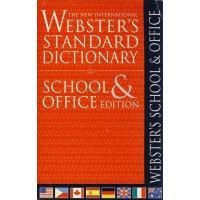 韦氏词典-学校和办公室字典【现货】 英文原版 Webster's School & Office Dictionary,韦氏词典-学校和办公室字典