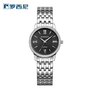 【官方直营】罗西尼休闲时尚超薄商务女士手表不锈钢石英表6492