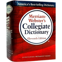 【正版包邮】华研原版 Merriam-Webster's Collegiate Dictionary 韦氏大学英语词典 GRE必备 英文原版英英字典