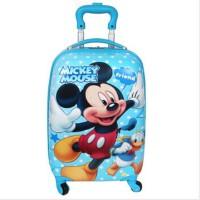 新款 迪士尼万向轮儿童旅行箱 儿童登机箱 米奇学生行李箱ABS拉杆箱 SM80655