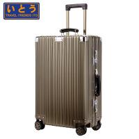 Travel Friends Ito铝镁合金拉杆箱旅行箱28英寸万向轮金属行李箱商务箱