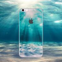 【全国包邮】hidog 苹果iPhone6s手机壳原创意半透明6plus保护套软边5s外壳简约