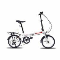 2016德国欧狼自由人1.0折叠自行车儿童车高档自行车14寸7S儿童折叠自行车折叠车变速车学生男女