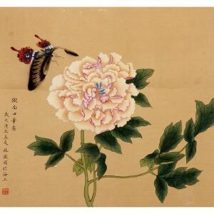 305林徽因花鸟