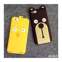 【包邮】智尚 卡通iPhone6手机壳硅胶 6S手机套 苹果6Plus手机壳防摔5s