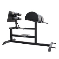 商用健身罗马椅山羊挺身多功能力量腰部训练器腰背腹肌重型腰部力量训练 腹肌训练器