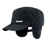 时尚冬帽保暖鸭舌帽男帽  秋冬季军帽男士帽子护耳帽平顶帽