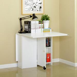 美达斯 折叠书桌 简约笔记本折叠桌 儿童学生学习桌 小户型多功能可伸缩折叠餐桌