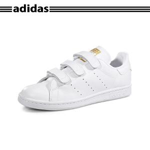 正品代购ADIDAS阿迪达斯STAN SMITH CF史密斯魔术贴男女小白鞋S75188