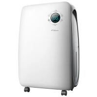 德尔玛除湿机抽湿机家用干衣静音地下室吸湿去湿干燥机净化空气