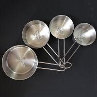 德国法克曼 烘焙用具 不锈钢量杯  量勺量勺 4件套FKMA016