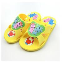 潮路思卡通厚底防滑儿童拖鞋 儿童浴室塑料拖鞋 男女童拖鞋   023-8