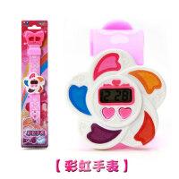 奥迪双钻 巴拉拉小魔仙手表 巴拉巴拉心形夜星宝盒手表女孩玩具