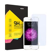 ESR亿色 苹果iPhone5s钢化膜前抗指纹蓝光i5薄防爆SE手机贴膜5c