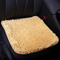 驰航 汽车坐垫/单垫 冬季新款雪尼尔小三件 棉垫无靠背 四季垫