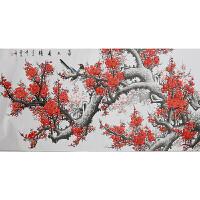 385王喜庆《喜上眉梢》    中国银奖艺术家、世界铜奖艺术家等