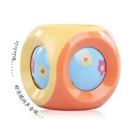 正版谷雨婴儿摇铃玩具 婴幼儿玩具摇铃球 宝宝叮咚球