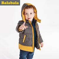巴拉巴拉童装男童棉服小童宝宝上衣冬装 棉袄