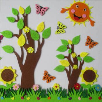 幼儿园教室装饰 太阳大树套装