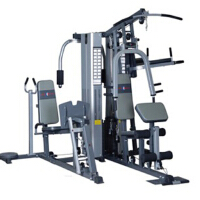 五人站综合训练器锻炼胸大肌背阔肌腹肌肱二头肌腿部肌肉多功能器材