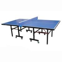 乒乓球桌室内训练桌可移动折叠乒乓球台贴牌