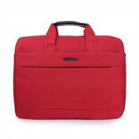休闲时尚商务公文包单肩手提包耐磨耐刮防水14寸电脑包户外旅行单肩包