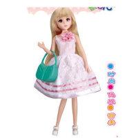 乐吉儿洋布芭比娃娃套装礼盒正品2014公仔可儿公主女孩玩具