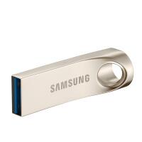 三星U盘128G大容量金属定制优盘汽车载电脑128GU盘高速USB3.0正品