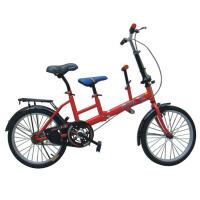 20寸可折叠送小孩上学亲子单车放车后尾箱母子自行车 公路车 山地车