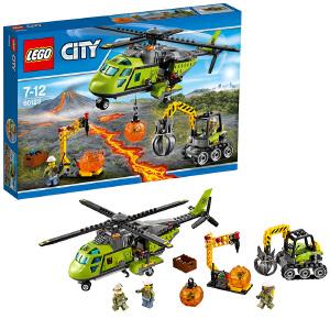 [当当自营]LEGO 乐高 City城市系列 火山探险运输直升机 积木拼插儿童益智玩具60123
