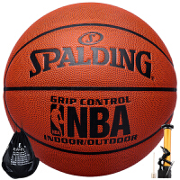 (领券立减30)斯伯丁/SPALDING篮球74-221 /74-604YPU皮室内外NBA用球人气爆款