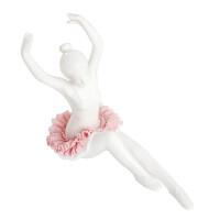 思雅晨 创意陶瓷工艺品 摆件 芭蕾舞少女摆件酒柜窗台厨房客厅家居装饰品