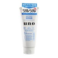 资生堂(Shiseido)洁面UNO吾诺男士磨砂�费战嗝嫒�130g新老款*发