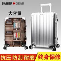 瑞士军刀 银色拉杆箱 5色可选 24寸拉杆箱男女休闲时尚登机箱行李箱潮BX161008
