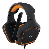 罗技(Logitech) G231 游戏耳机 头戴式台式PC电脑电竞语音耳麦带话筒