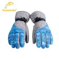 【满200立减100元】渔民部落户外配件滑雪手套全指男女保暖登山手套防风防水防滑手套  825303